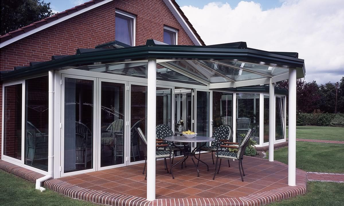 TS-Aluminium Terrassendächer
